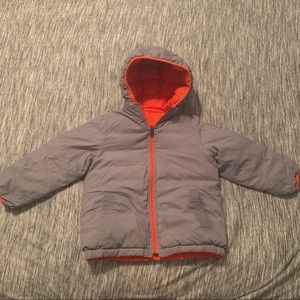 GAP Jackets & Coats - Baby Gap Reversible Puffer Coat